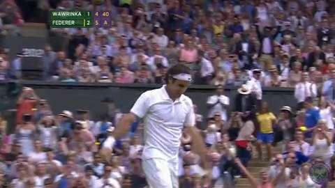 2014 Day 9 Highlights, Roger Federer vs Stanislas Wawrinka, Quarter-Final