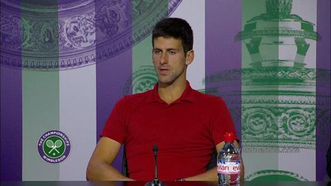 Novak Djokovic Quarter-Final Press Conference