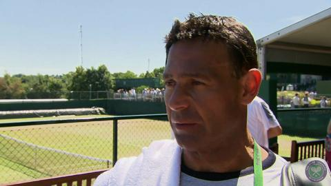 Roger Rasheed Live @ Wimbledon interview