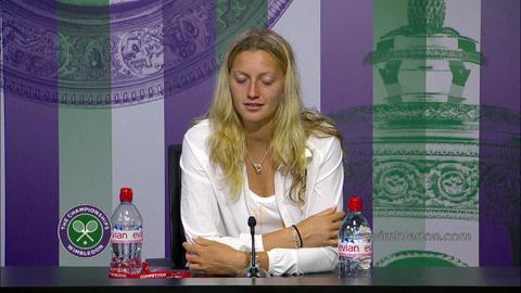 Petra Kvitova Semi-Final Press Conference