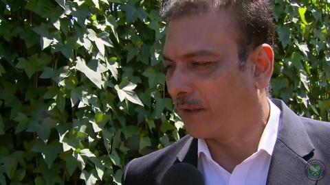 Ravi Shastri Live @ Wimbledon interview