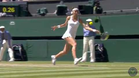 HSBC Play Of The Day - Lucie Safarova