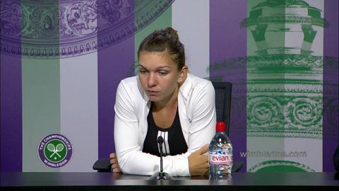 Simona Halep Semi-Final Press Conference