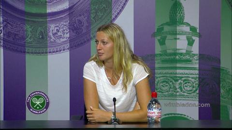 Petra Kvitova Pre Final Press Conference