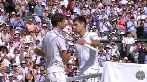 2014 Day 11 Highlights, Novak Djokovic vs Grigor Dimitrov, Semi-Final