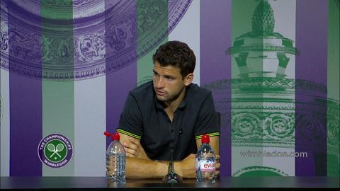 Grigor Dimitrov Semi-Final Press Conference