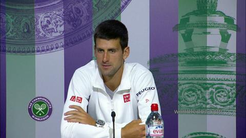 Novak Djokovic Semi-Final Press Conference