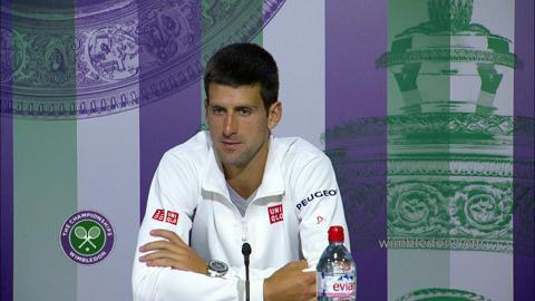 Novak Djokovic Semi-Final Press Conference