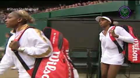 Venus v Serena: #WilliamsSisters Final