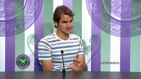 Roger Federer Pre Final Press Conference