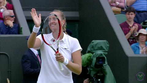 Petra Kvitova Road To The Final