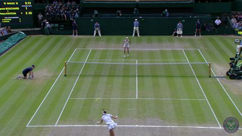 HSBC Play Of The Day - Petra Kvitova