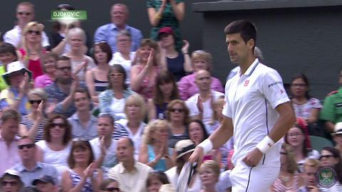 2014 Gentlemen's Singles Final Highlights, Novak Djokovic vs Roger Federer