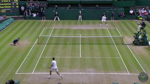 HSBC Play Of The Day - Novak Djokovic