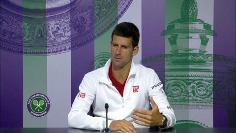2014 Gentlemen's Singles Champion Novak Djokovic Press Conference