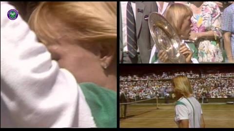 Navratilova's nine Wimbledon titles