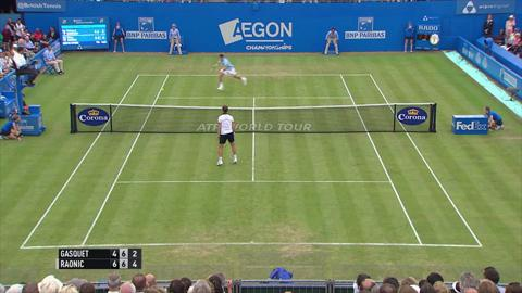 Shot of the day - Gasquet at Queen's