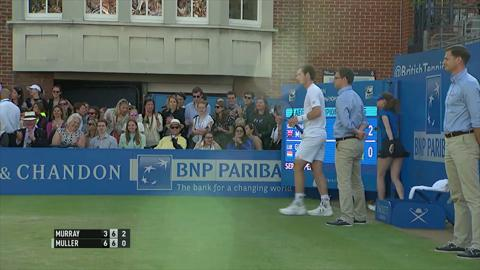 Shot of the day - Murray at Queen's