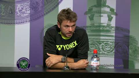 Stanislas Wawrinka Pre Wimbledon Press Conference