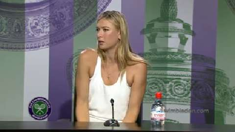 Maria Sharapova Pre Wimbledon Press Conference