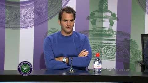 Roger Federer Pre Wimbledon Press Conference