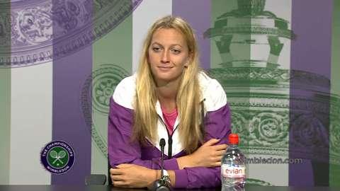 Petra Kvitova Pre Wimbledon Press Conference