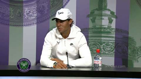 Rafael Nadal Pre Wimbledon Press Conference