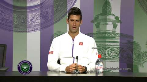 Novak Djokovic Pre Wimbledon Press Conference