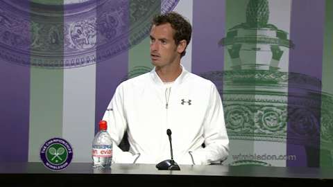 Andy Murray Pre Wimbledon Press Conference