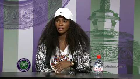 Serena Williams Pre Wimbledon Press Conference
