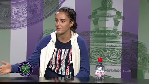 Laura Robson Pre Wimbledon Press Conference