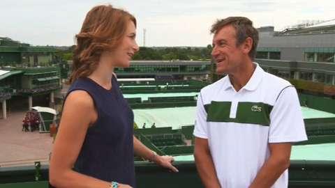 Tennis Insights Day 1, Djokovic vs Kohlschreiber