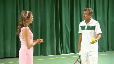 Coaching Corner: Serena's serve