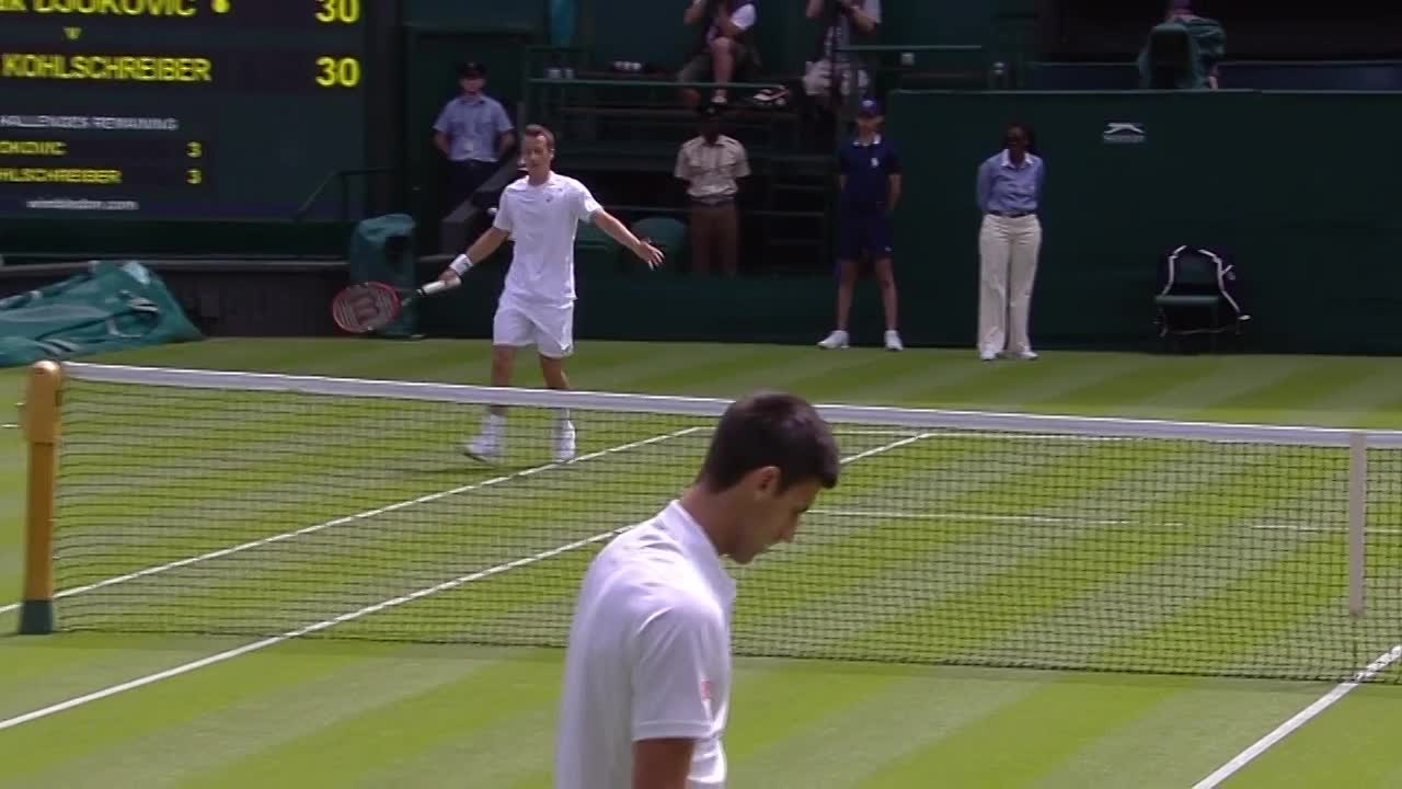 Novak Djokovic gets extra support