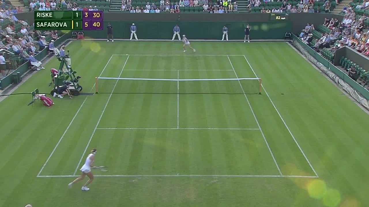 Relief from Lucie Safarova