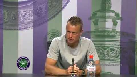 Lleyton Hewitt First Round Press Conference