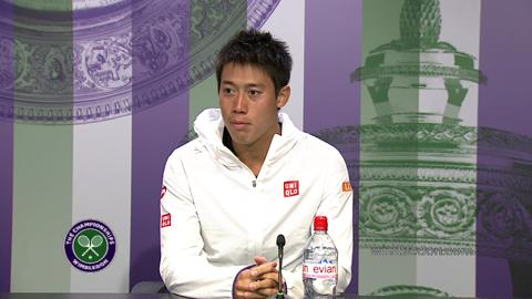 Kei Nishikori First Round Press Conference