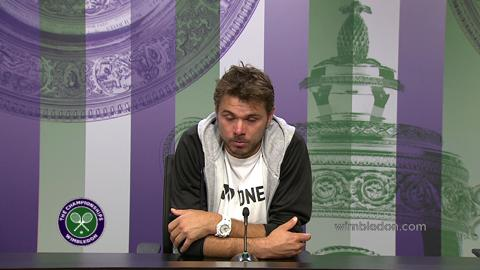 Stanislas Wawrinka First Round Press Conference