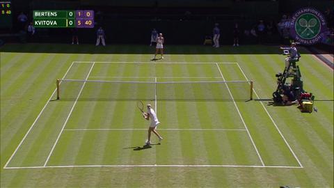 2015 Day 2 Highlights, Kiki Bertens vs Petra Kvitova