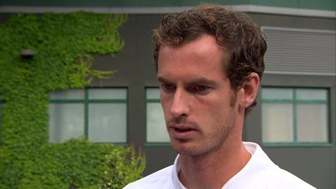 Andy Murray interviews for the job of Wimbledon Champion