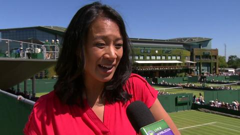 Anne Keothavong Live @ Wimbledon interview