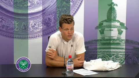 Tomas Berdych First Round Press Conference