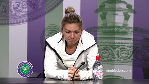 Simona Halep First Round Press Conference