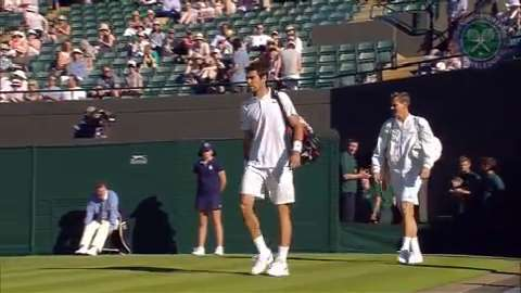 2015 Day 2 Highlights, Tomas Berdych vs Jeremy Chardy