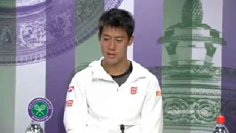 Kei Nishikori Second Round Press Conference