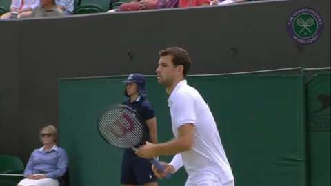 2015 Day 3 Highlights, Grigor Dimitrov vs Steve Johnson