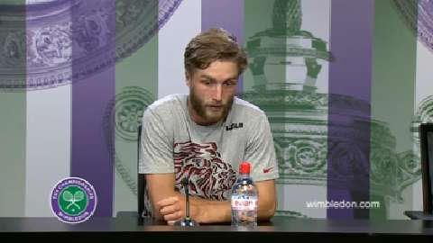 Liam Broady Second Round Press Conference