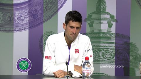 Novak Djokovic Second Round Press Conference