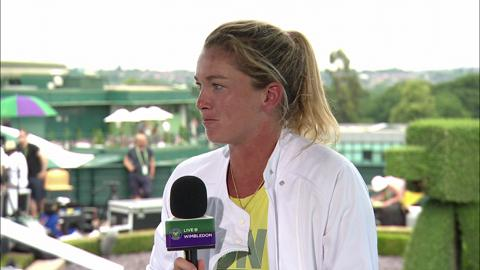 Coco Vanderweghe visits the LIve @ Wimbledon studio