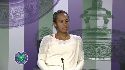 Heather Watson Second Round Press Conference